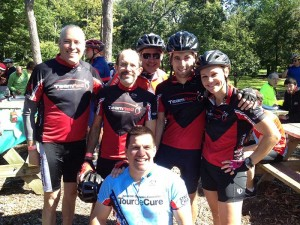 Team RED in the North Shore Century